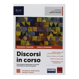 discorsi-in-corso--libro-misto-con-hub-libro-young-vol-ortografia-morfologia-sintassi-e-lessico