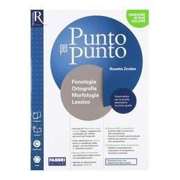 punto-per-punto--libro-misto-con-openbook-fonologia--quad--speciale-lessico--mappe--esame-di-s