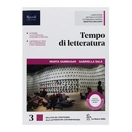 tempo-di-letteratura--libro-misto-con-hub-libro-young-vol-3--hub-youing--hub-kit