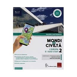 mondi-e-civilta--libro-misto-con-hub-libro-young-vol-2--atlante-guidato--quad--hub-young--hu