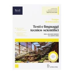 tempo-di-letteratura--libro-misto-con-hub-libro-young-testi-e-linguaggi-tecnicoscientifici--hub-y