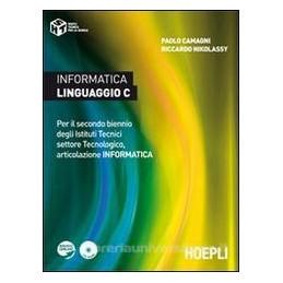 INFORMATICA LINGUAGGIO C +CD ROM X 3,4