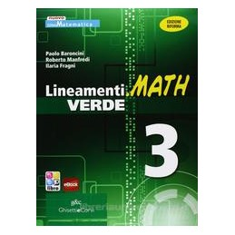 LINEAMENTI.MATH VERDE 3 X 3 IT
