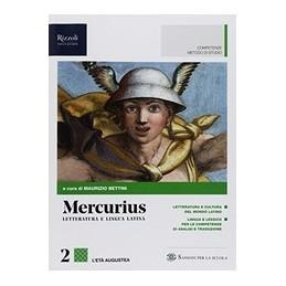 mercurius-letteratura-e-lingua-latina--libro-misto-con-hub-libro-young-vol-2--hub-young--hub-ki