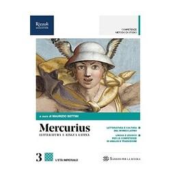 mercurius-letteratura-e-lingua-latina--libro-misto-con-hub-libro-young-vol-3--hub-young--hub-ki