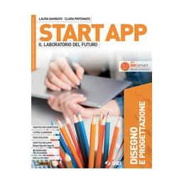 start-app--il-laboratorio-del-futuro--pack-4-tomi-tecnologiadvdquad-saperi-basedisegno-progett