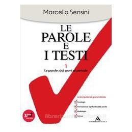 PAROLE E I TESTI MORFOS.+ABIL.+AMMAZ.+CD