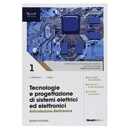 tecnologie-e-progettazione-di-sistemi-elettrici-ed-elettronici--libro-misto-art-elettronica--vol