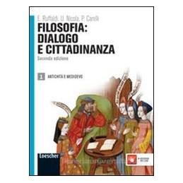 FILOSOFIA DIALOGO E CITTADINANZA  1 2 ED