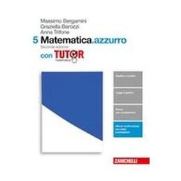 matematicaazzurro-2ed--volume-5-con-tutor-ldm