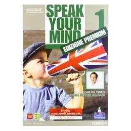 SPEAK YOUR MIND 1 ED.MYENGLISHLAB SB+WB