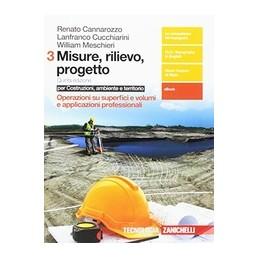 misure-rilievo-progetto-3-5ed-ld--per-costruzioni-ambiente-e-territorio-operazioni-su-superfic