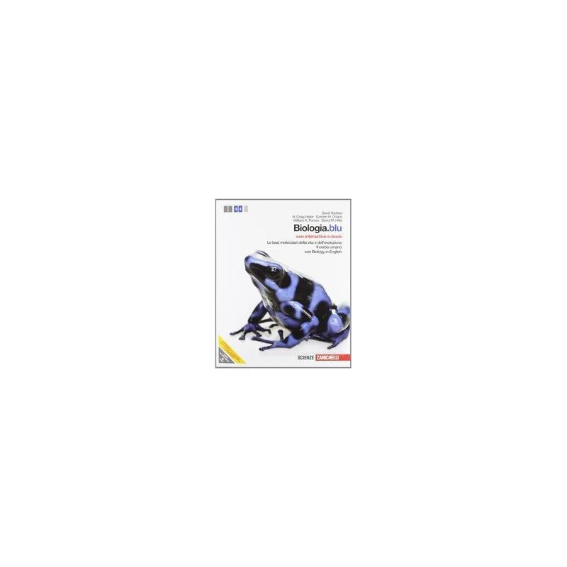 BIOLOGIA BLU  BASI MOLEC.+CORPO UMANO+EB