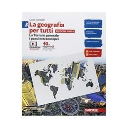 geografia-per-tutti-la--edizione-rossa---volume-3-ldm-la-terra-in-generale-i-paesi-extraeurop