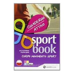 SPORT BOOK, QUADERNO DIARIO +LIBRO DIGIT