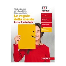 regole-della-mente-le--volume-unico-per-il-secondo-biennio-ldm-corso-di-psicologia