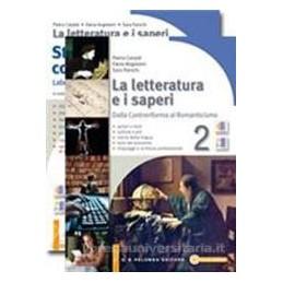 LETTERATURA E I SAPERI 2 +STUD.2