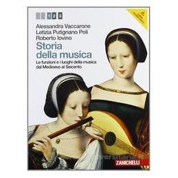 STORIA DELLA MUSICA 1 +CD +PDF
