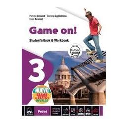 game-on-volume-3-students-book--orkbookebook-con-nuovo-esame-di-stato--easy-ebook-su-dvd-vol