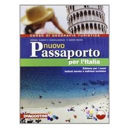 NUOVO PASSAPORTO PER L`ITALIA +L.DIG+ATL