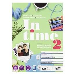 in-time--students-book--orkbook-2--tavola-dei-verbi--easy-ebook-su-dvd--ebook-vol-2