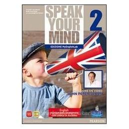 SPEAK YOUR MIND 2 SB&WB +CD+MYENGLISHLAB