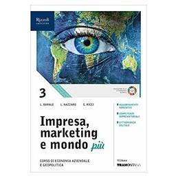 impresa-marketing-e-mondo-piu--libro-misto-con-hub-libro-young-vol-3---quaderno-conti--hub-yo