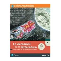 le-occasioni-della-letteratura-1---edizione-nuovo-esame-di-stato-con-antolog--vol-1