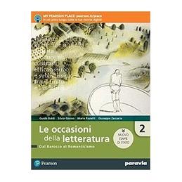 le-occasioni-della-letteratura-2-edizione-nuovo-esame-di-stato--vol-2