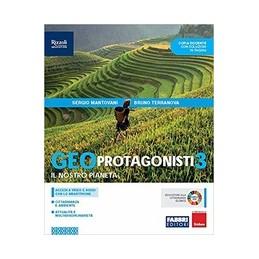 geoprotagonisti---libro-misto-con-libro-digitale-volume-3-quaderno-di-cittadinanza-con-hub-young-e