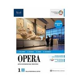 opera-edizione-blu-libro-misto-con-libro-digitale-volume-1-vol-1