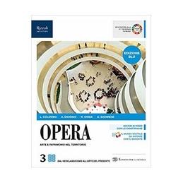 opera-edizione-blu-libro-misto-con-libro-digitale-volume-3-vol-3