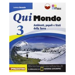QUI MONDO 3 +LIBRO DIGITALE