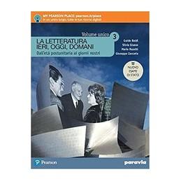 la-letteratura-ieri-oggi-domani--3--edizione-in-volume-unico-nuovo-esame-d--vol-3