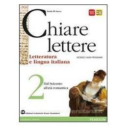 CHIARE LETTERE 2  600 ETÀ ROMANTICA