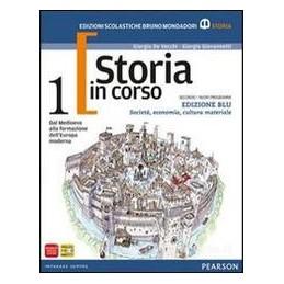 STORIA IN CORSO ED.BLU 1 +ATL. X ECO.SOC