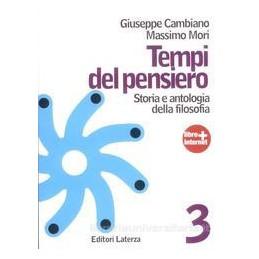 TEMPI DEL PENSIERO 3  ETÀ CONTEMPORANEA