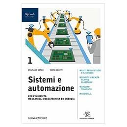 sistemi-e-automazione-libro-misto-con-libro-digitale-volume-1-per-lindirizzo-meccanica-meccatronic