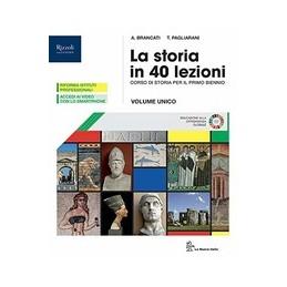 storia-in-40-lezioni-la--libro-misto-con-libro-digitale-volume-atlante-con-hub-young-e-hub-kit-vo