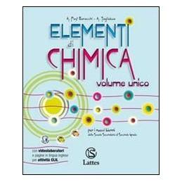 ELEMENTI DI CHIMICA V.UN.+ATT.SPER. X TR