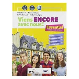 viens-encore-avec-nous-essentiel--cartes-mentales--grammaire--esame-di-stato--easy-book-su-dvd