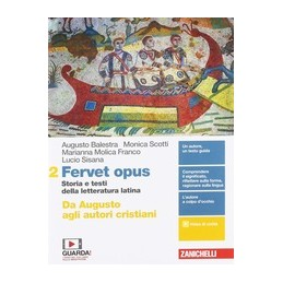 fervet-opus--volume-2-ldm-da-augusto-agli-autori-cristiani--storia-e-testi-della-letteratura-lat