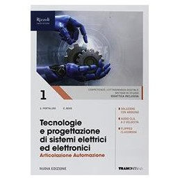 tecnologie-e-progettazione-di-sistemi-elettrici-ed-elettronici--libro-misto-art-automazione--vol