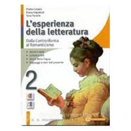 ESPERIENZA DELLA LETTERATURA 2+STUD.2