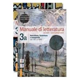 NUOVO MANUALE DI LETTERATURA 3A+3B