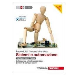 SISTEMI E AUTOMAZIONE 1 +CD ROM +PDF