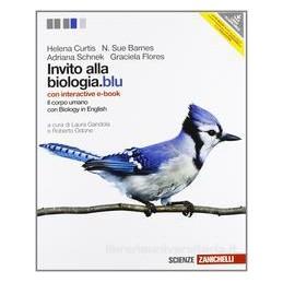 INVITO ALLA BIOLOGIA BLU CORPO UMANO +EB