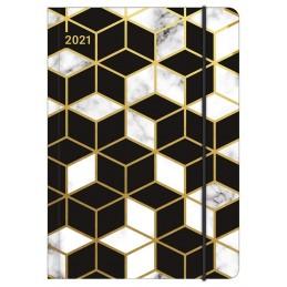 midi-flexi-marbled-pattern-diary-2021-cm-12x17