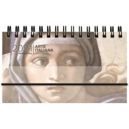 agenda-spiralata-2021-arte-italiana-settimanale-orizzontale-8x14-cm