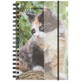 agenda-spiralata-2021-kittens-giornaliera-11x165-cm